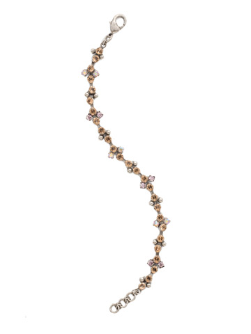 Clematis Bracelet in Antique Silver-tone Mirage