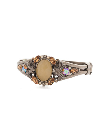 Flora Filigree Bracelet in Antique Silver-tone Mirage