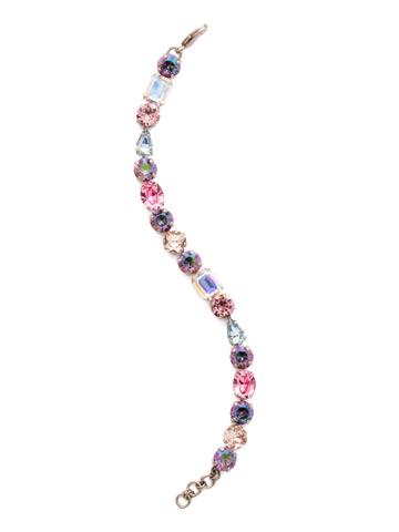 Clover Classic Line Bracelet in Antique Silver-tone Stargazer