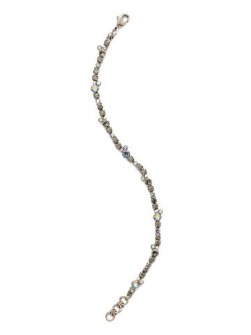 Honeysuckle Bracelet in Antique Silver-tone Crystal Rock