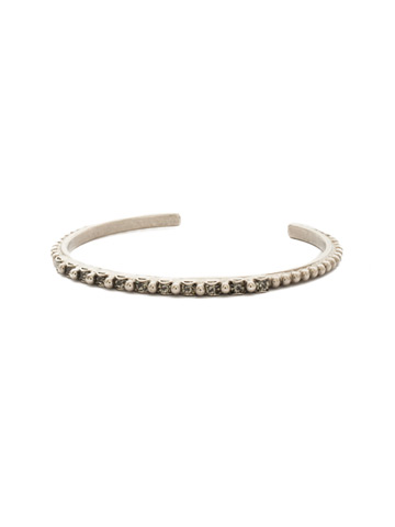 Sakura Bracelet in Antique Silver-tone Crystal Rock