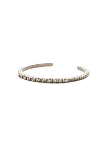 Sakura Bracelet in Antique Silver-tone Crystal