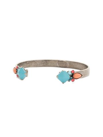 Cassia Bracelet in Antique Silver-tone Vivid Horizons