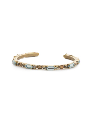 Salvia Bracelet in Antique Gold-tone Washed Waterfront
