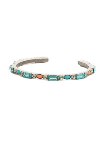 Salvia Bracelet in Antique Silver-tone Vivid Horizons