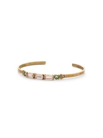 Bergeria Bracelet in Antique Gold-tone Radiant Sunrise