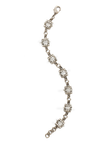 Square's To You Bracelet in Antique Silver-tone Crystal
