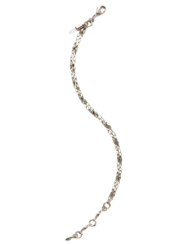 Chained To the Rhythm Bracelet in Antique Silver-tone Crystal