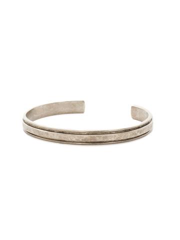 Make It Simple Cuff Bracelet in Antique Silver-tone Crystal