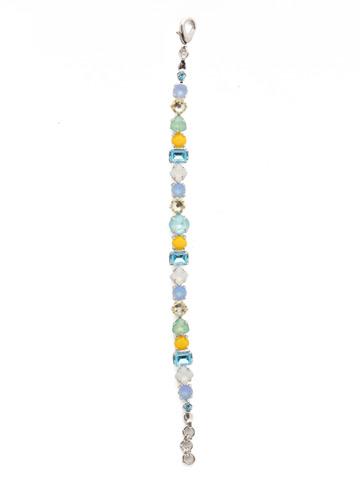 Sedge Classic Line Bracelet in Rhodium Tahitian Treat
