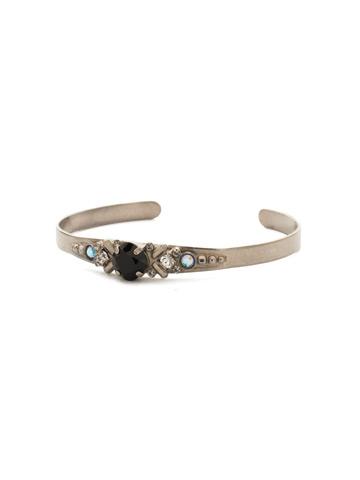 Aralia Bracelet in Antique Silver-tone Black Tie