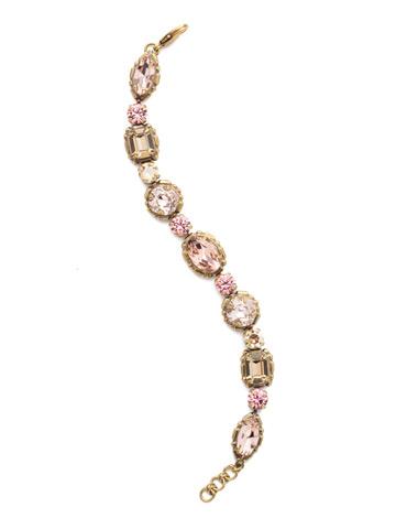 Cardoon Classic Line Bracelet in Antique Gold-tone Beach Comber