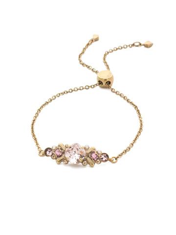 Rosina Slider Bracelet in Antique Gold-tone Beach Comber