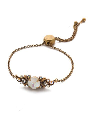 Rosina Slider Bracelet in Antique Gold-tone Rocky Beach