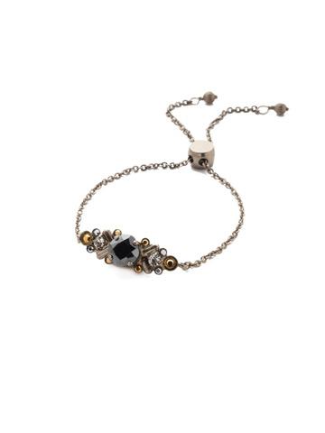 Rosina Slider Bracelet in Antique Silver-tone Heavy Metal