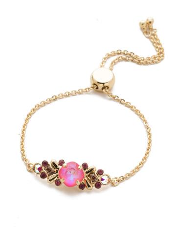 Rosina Slider Bracelet in Bright Gold-tone Island Sun