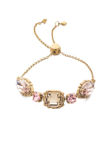 Tosca Slider Bracelet in Antique Gold-tone Beach Comber