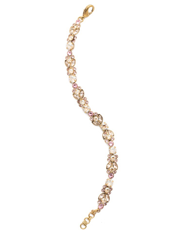 Genoviva Classic Line Bracelet in Antique Gold-tone Beach Comber