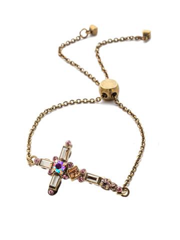 Venezia Slider Bracelet in Antique Gold-tone Beach Comber