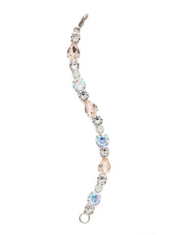 Harper Classic Line Bracelet in Antique Silver-tone Silky Clouds
