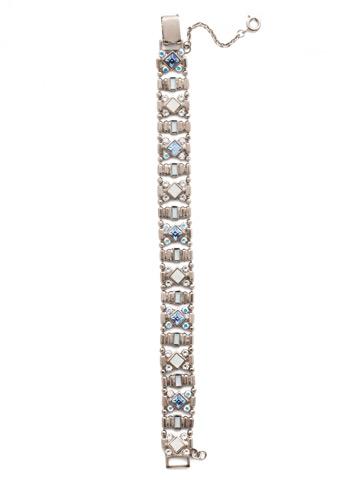 Lyanna Classic Line Bracelet in Antique Silver-tone Glacier