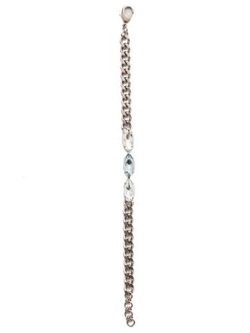 Melanie Line Bracelet in Antique Silver-tone Glacier