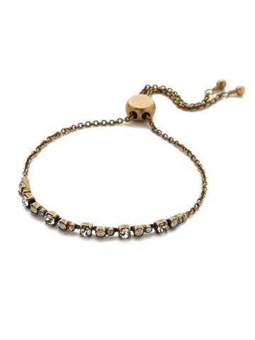 Glimmer Slider Bracelet in Antique Gold-tone Rocky Beach
