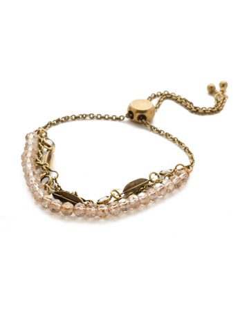 Daydream Slider Bracelet in Antique Gold-tone Rocky Beach