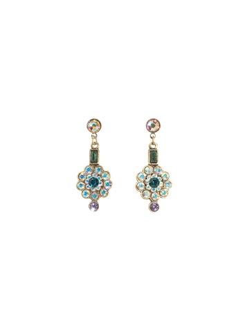Sorrelli Earrings in Antique Gold-tone Smitten