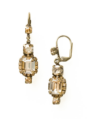 Classic Drop Earring in Antique Gold-tone Neutral Territory