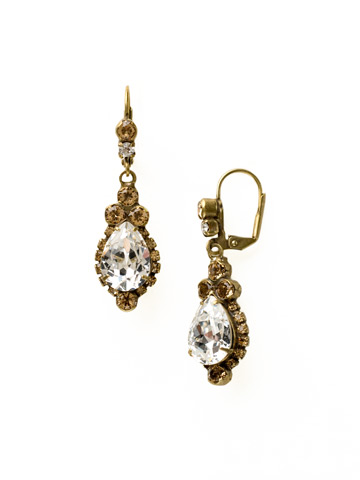 Sweet Treats Earring in Antique Gold-tone Neutral Territory