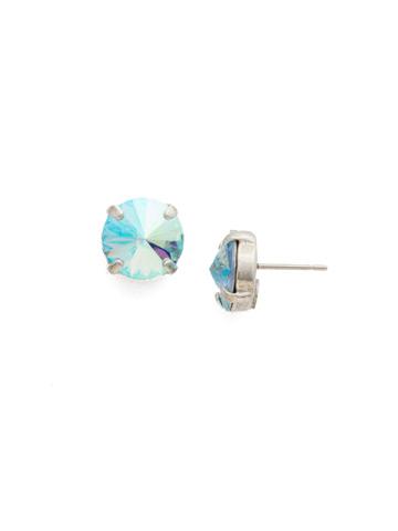 Radiant Rivoli Earring in Antique Silver-tone Sweet Mint