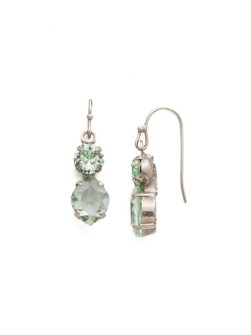 Majestic Marquise Earring in Antique Silver-tone Mint
