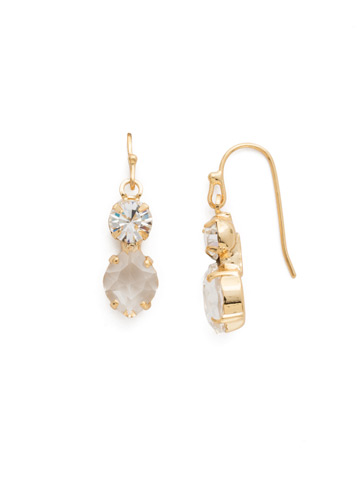 Majestic Marquise Earring in Bright Gold-tone Crystal
