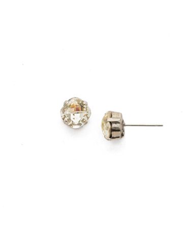 One and Only Earring in Antique Silver-tone Lemon Zest