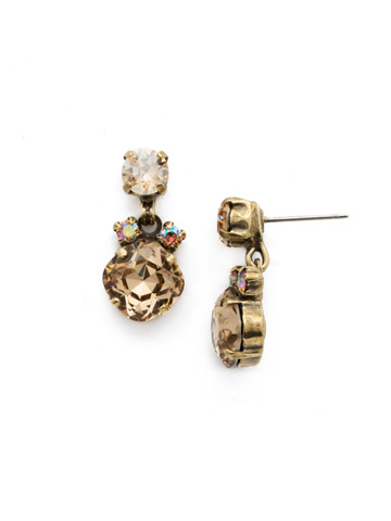 Balsam Earring in Antique Gold-tone Neutral Territory