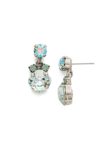 Balsam Earring in Antique Silver-tone Sweet Mint