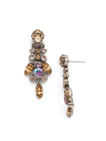 Perfect Harmony Chandelier Earring in Antique Silver-tone Mirage
