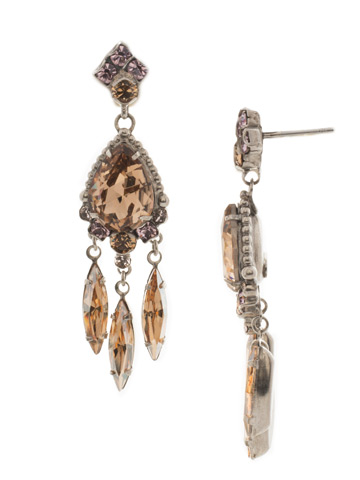 Primrose Earring in Antique Silver-tone Mirage