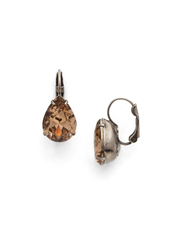 Timeless Teardrop Earring in Antique Silver-tone Mirage