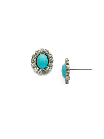 Daisy Earring in Antique Silver-tone Vivid Horizons