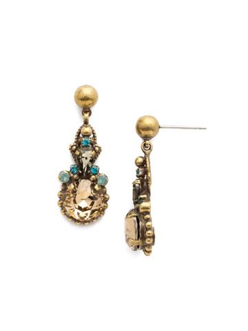 Elowen Earring in Antique Gold-tone Driftwood