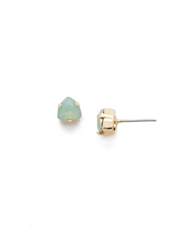 Sedge Earring in Bright Gold-tone Candy Pop