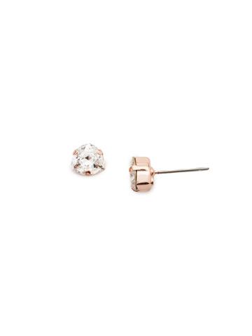 Sedge Earring in Rose Gold-tone Rose Garden