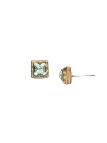 Pasquelina Stud Earring in Antique Gold-tone Bohemian Bright
