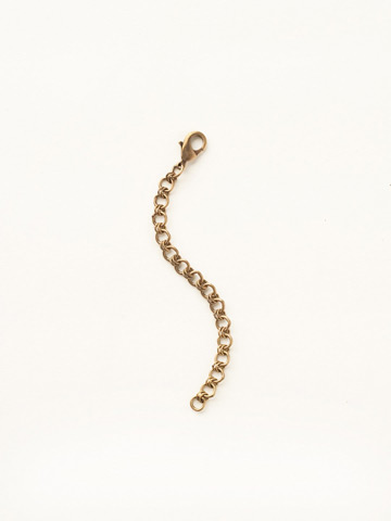 Necklace Extender in Antique Gold-tone