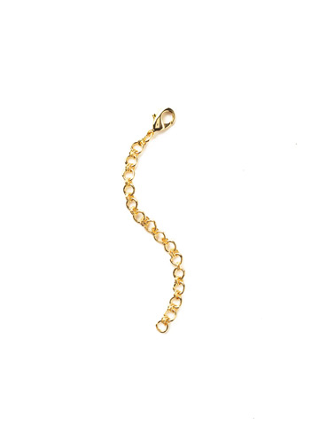 Necklace Extender in Bright Gold-tone