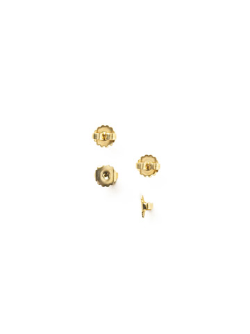 Monster Earring Backs (4 Pack) in Antique Gold-tone
