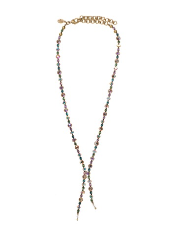 Necklace in Antique Gold-tone Smitten