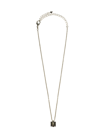 Inde-pendant Necklace in Antique Silver-tone After Midnight